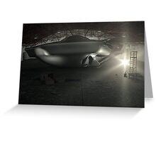 Roswell UFO Hangar Greeting Card