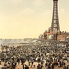 Blackpool - An scene from the past by Stephen Willmer