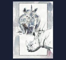 Rhino Study - The Unpardonable Crime One Piece - Long Sleeve