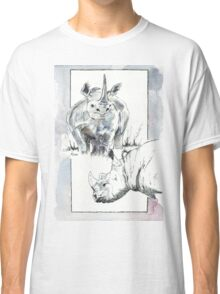 Rhino Study - The Unpardonable Crime Classic T-Shirt