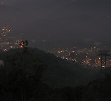 Lights of Gatlinburg by Pete Nunweiler