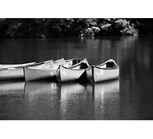 Canoes on the Chattahoochee River Photographic Print