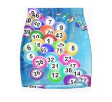 Bingo Balls Mini Skirt