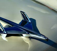 1955 Classic Chevrolet Hood Ornament by TeeMack