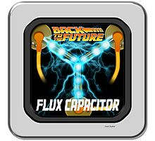 Flux Capacitor  Photographic Print