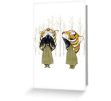 Tigerheads Greeting Card