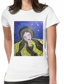 """""""Gaia"""" Womens Fitted T-Shirt"""
