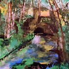 My  Painting    of /   The Little Bridge, Pontoise  /       (  My Paintings  ) by Rick  Todaro
