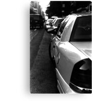 :: NYC Taxi :: Canvas Print