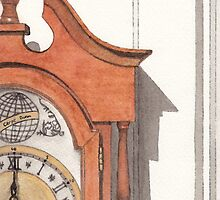 Grandfather Clock by Ken Powers