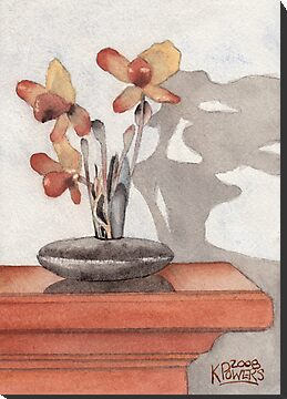 Mantel Flowers by Ken Powers
