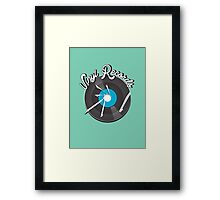 Vinyl Records v2 Framed Print