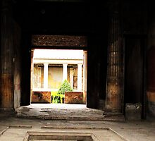 Pompeii - Interior court or peristyle of house by creativetravler