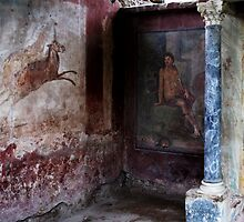 Pompeii - First-century AD wall painting by creativetravler