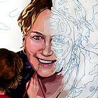 Self portrait by numbers. by Janne Kearney
