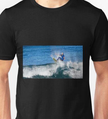 Surfing hard 01 Unisex T-Shirt