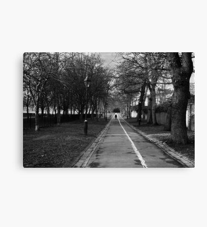 London Walk Canvas Print