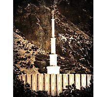 Provo LDS Temple Photographic Print