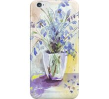 Bluebell eloquence iPhone Case/Skin