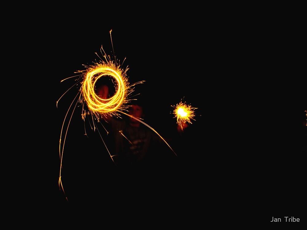 The Sparkler fireworks Wizard by Jan  Tribe