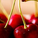 Sweet Red Cherries by jayant