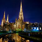 Heavenly Reflections  St Patrick&#x27;s Cathedral  Melbourne by William Bullimore