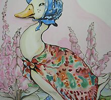 Jemima Puddleduck commission by Deborah Boyle