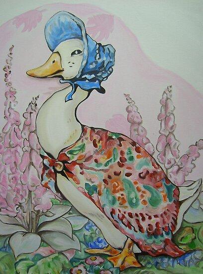 Jemima Puddleduck commission by Deborah Boyle