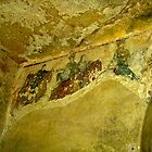 Plantagenet_Hunting_Party_Troglodyte_Church_Chinon_France by Keith Richardson