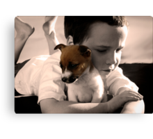 Buddy and Belle Canvas Print