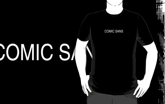 This is not comic sans by BigFatRobot