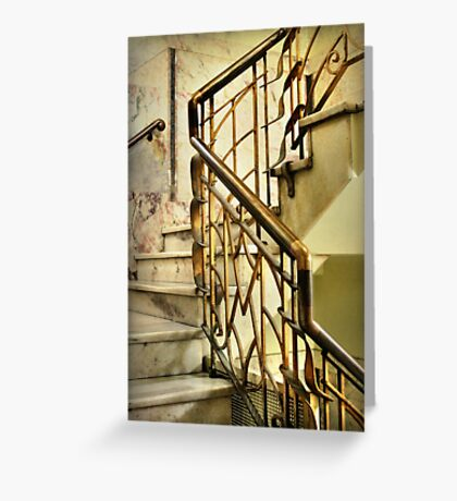 Manchester Unity Staircase Greeting Card