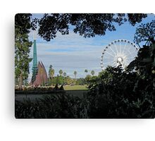 Two would-be icons Canvas Print