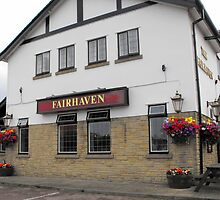 The Fairhaven Pub at Lytham St Annes, Lancashire. by JacquiK