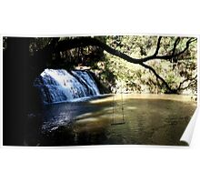 Morwell River Falls Poster