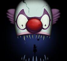 The bite of the clown by jordygraph