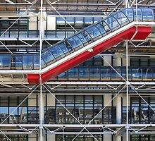 Centre Georges Pompidou by Michael Varakin