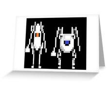 Portal Friends Greeting Card