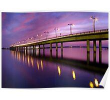 Puente de Punta... Poster