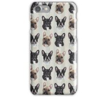 "Vintage ""Postal Frenchie"" iPhone Case/Skin"