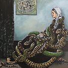 Whistler's Mum loves her Snakes  by SnakeArtist
