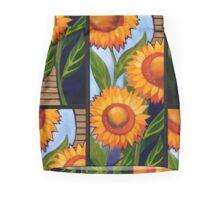 Sunflower column No3 Mini Skirt