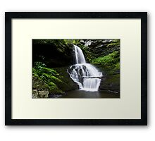 Bridesmaid's Falls Framed Print