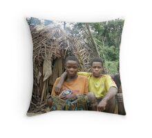 Pygmee Cameroon Throw Pillow