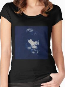 Joni Mitchell Blue Rocketted Women's Fitted Scoop T-Shirt