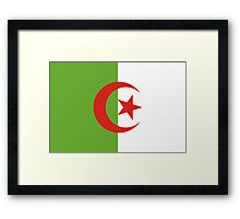Algeria, national id Framed Print