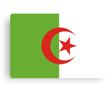 Algeria, national id Canvas Print