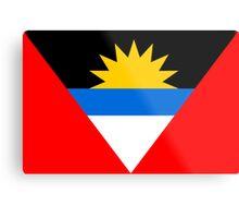 Antigua & Barbuda, national id Metal Print