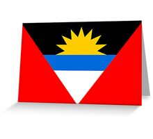 Antigua & Barbuda, national id Greeting Card