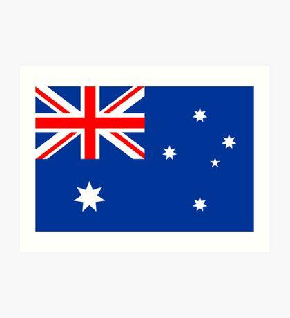 Australia, national id Art Print